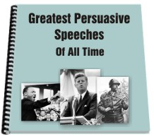 greatest persuasive speeches of all time